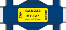 CAN232 CAN adpteri RS232