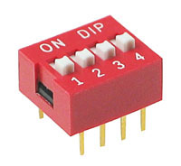 DIP4 - 4 Position DIP Switch