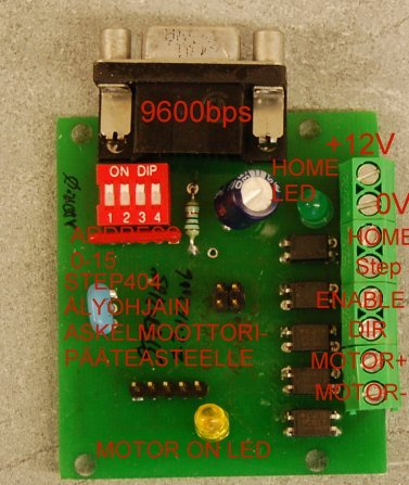 step404 stepper motor controller